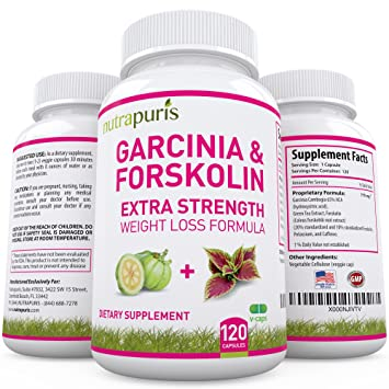 Amazon Com Best 2 In 1 Garcinia Cambogia And Forskolin Extra