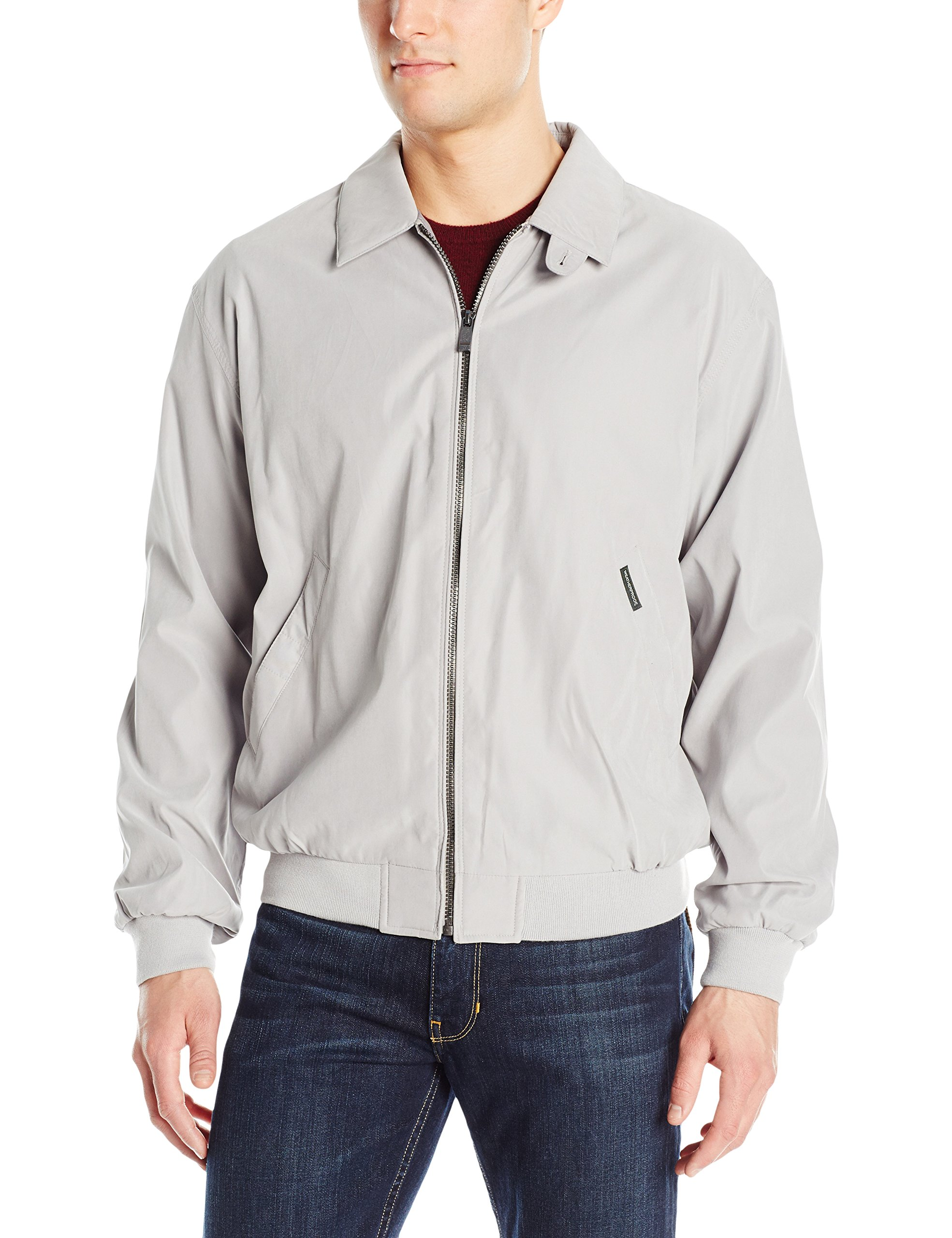 Weatherproof Garment Co. Men's Classic Golf Jacket, Fog, Medium by Weatherproof Garment Co.