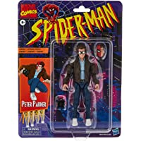 Hasbro Marvel Legends Series Spider-Man 6-inch Collectible Peter Parker Action Figure Toy Retro Collection