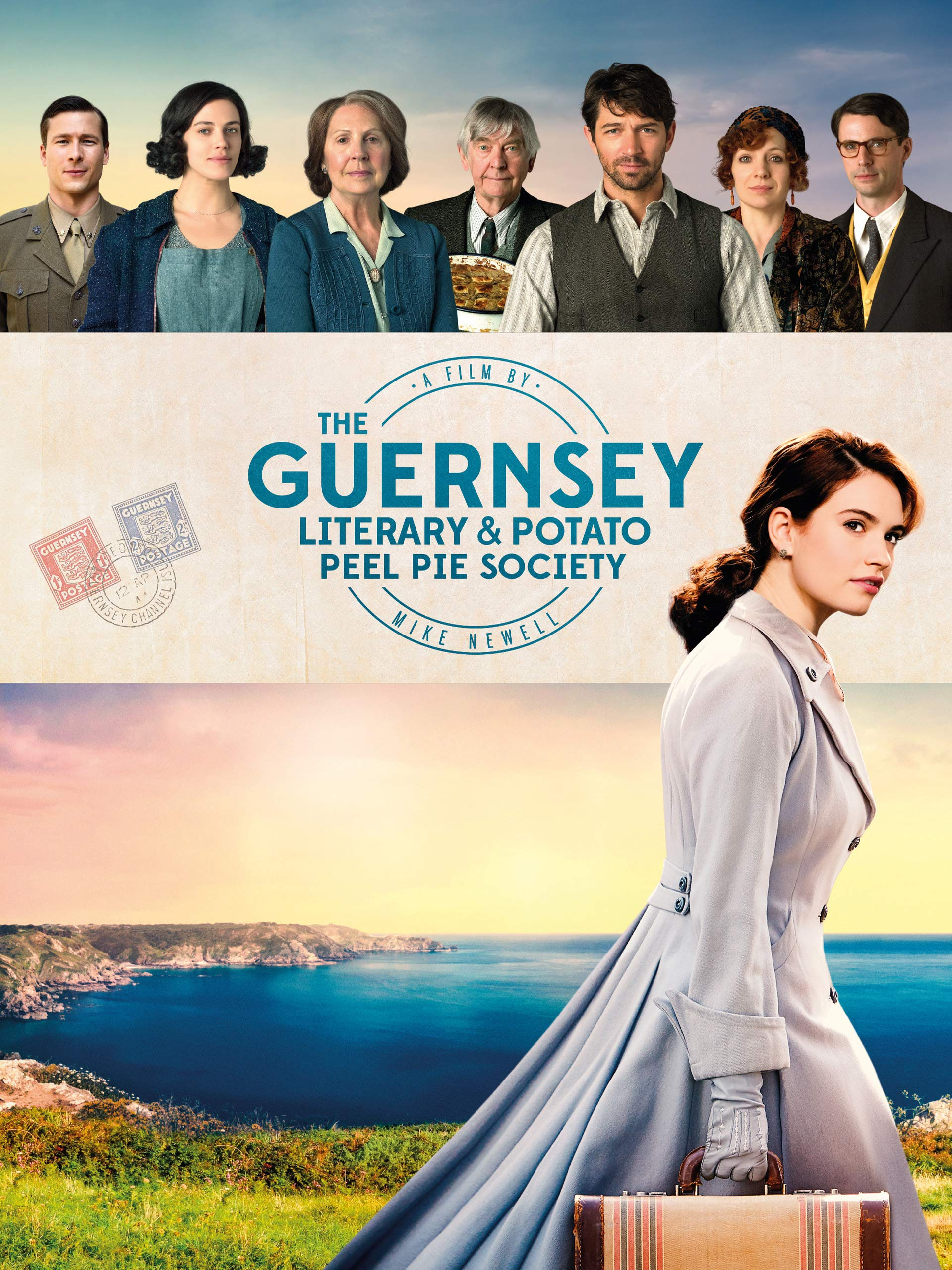 The Guernsey Literary and Potato Peel Pie Society (4K UHD)