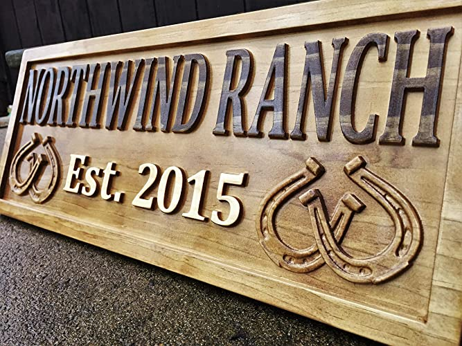 6fdde23ad20d9 Personalized Ranch Sign Rustic Wood Sign Personalized Couples Gift Custom  Wooden Sign Family Last Name Established Gift Stall Sign Horse Barn ...