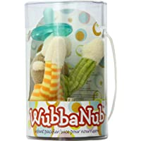 Mary Meyer Wubbanub Plush Pacifier, Mango Monkey
