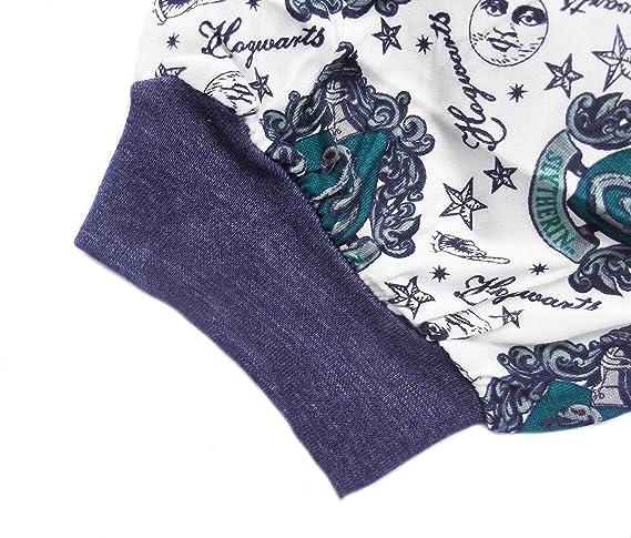 Love to Lounge Harry Potter Slytherin de Pijama o Gryffindor T Camisa y pantalón. Green/White Slytherin S: Amazon.es: Ropa y accesorios