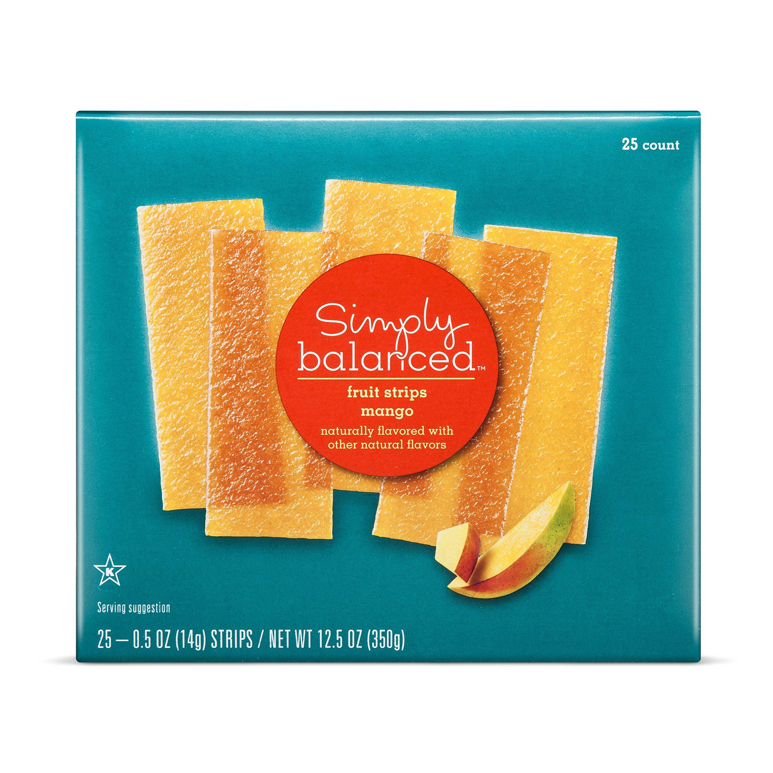 Simply Balanced Mango Strips (25 count)