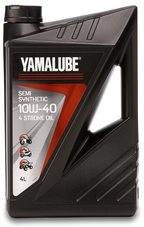 Bidón 4 litros aceite YAMALUBE 4 S 10w-40 4 tiempos Semi-sintético Original Yamaha: Amazon.es: Coche y moto