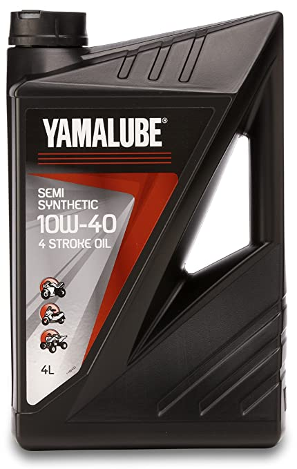 Bidón 4 litros aceite YAMALUBE 4 S 10w-40 4 tiempos Semi ...