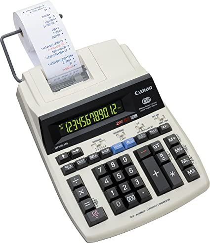 Canon MP120-MG - Calculadora impresora, beige: Amazon.es: Oficina ...