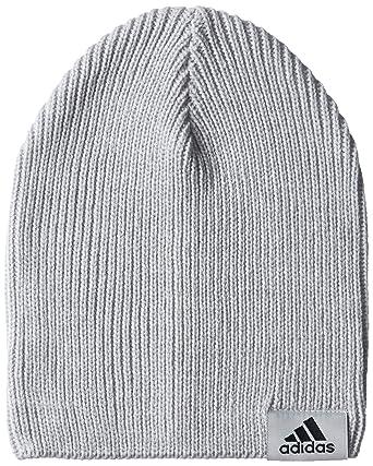 2f2c8f60e adidas Unisex Performance Beanie, Medium Grey Heather/Medium Grey ...