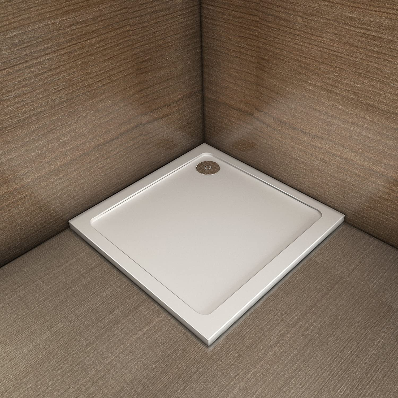 Receveur de douche en 160x70 cm extra plat rectangulaire bac /à douche litalienne