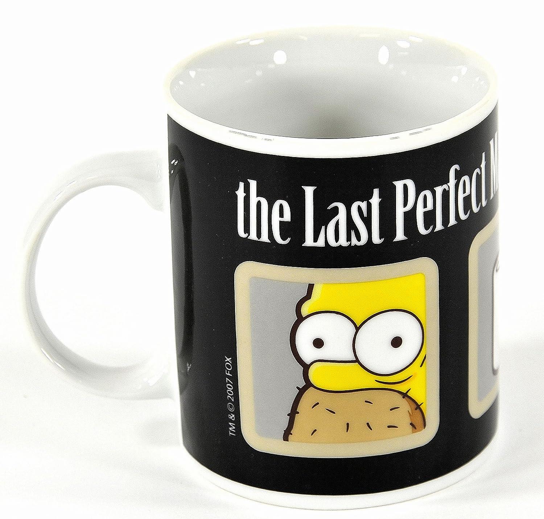 Taza de Los Simpsons: Homer, el último hombre perfecto https://amzn.to/2BF9YR8