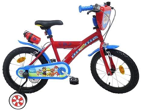 Paw Patrol - Bicicleta Infantil de 16 Pulgadas, diseño de la ...