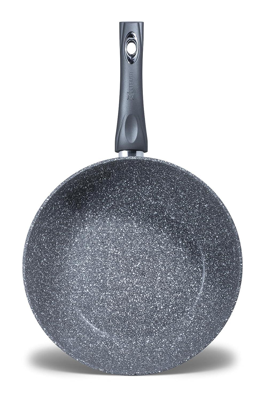 Aeternum y0/a2sp0280/petravera Madame sart/én y Wok Aluminio Gris 28/cm
