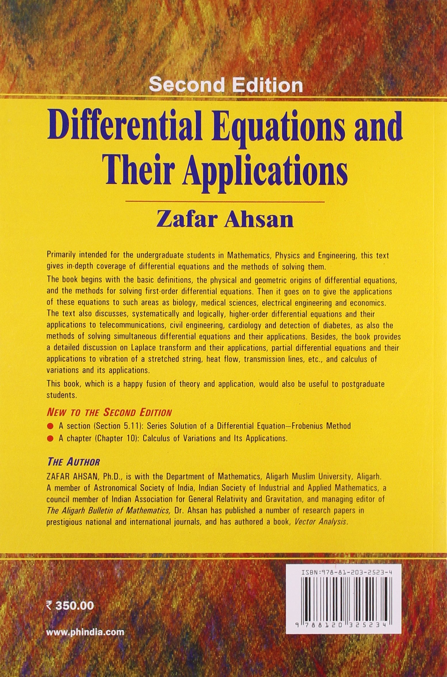 Differential Equations and Their Applications: An ...