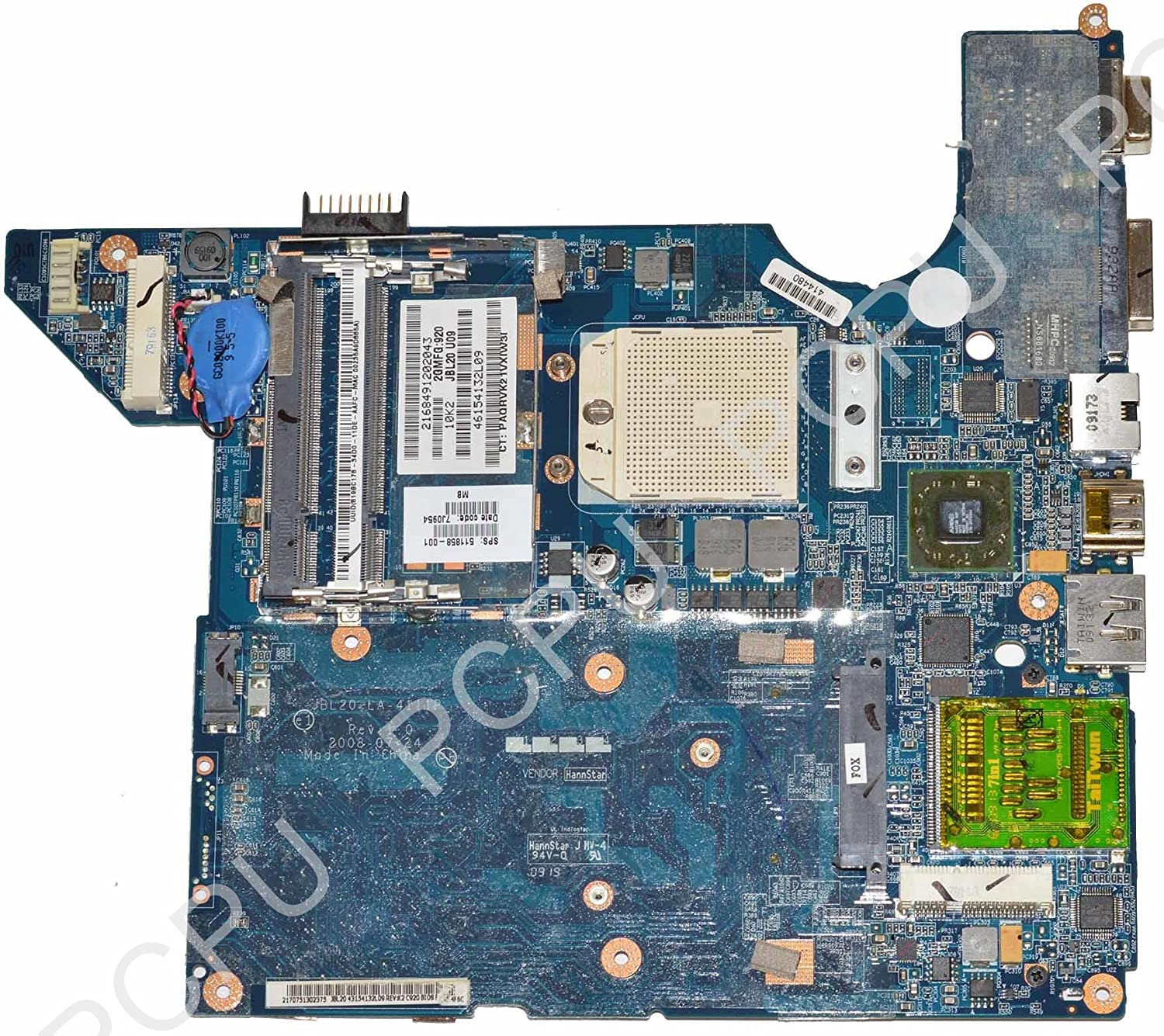 511858-001 HP Laptop DV4 AMD Laptop Motherboard S1 577796-001