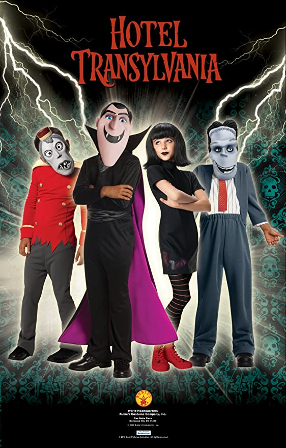 Hotel Transylvania Frankie Costume, Medium by Rubies: Amazon.es: Juguetes y juegos