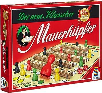 Schmidt Spiele Mensch ärgere Dich nicht Standardausgabe Familienspiel Brettspiel