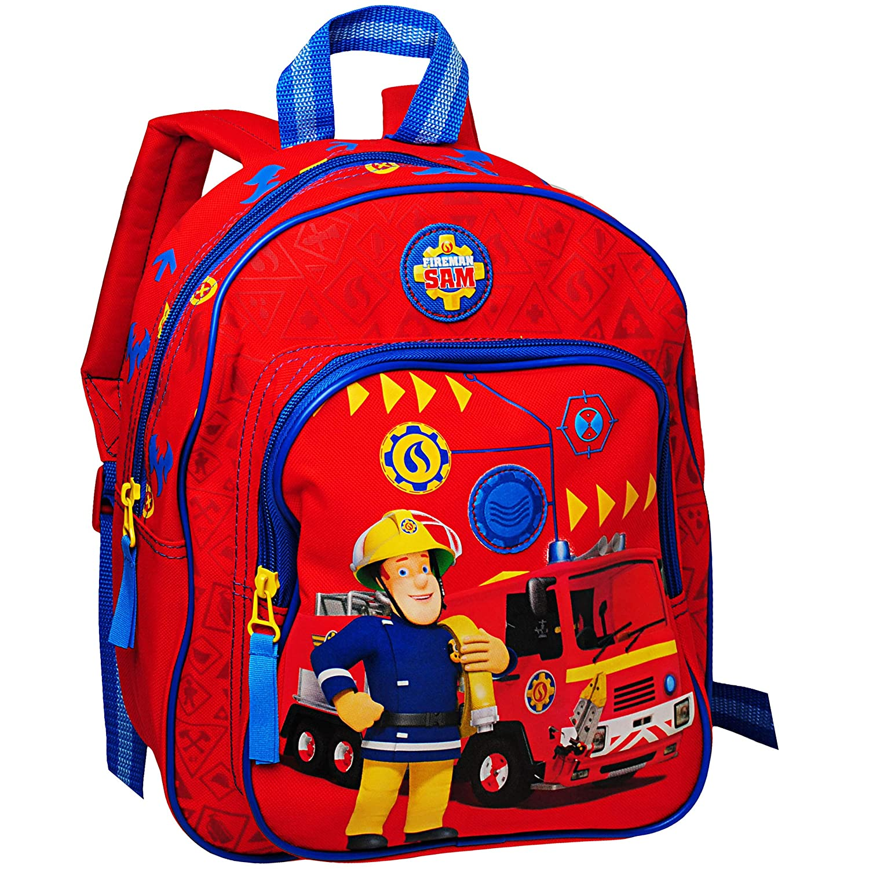 3D Motiv Rucksack Kinder Feuerwehrmann Sam