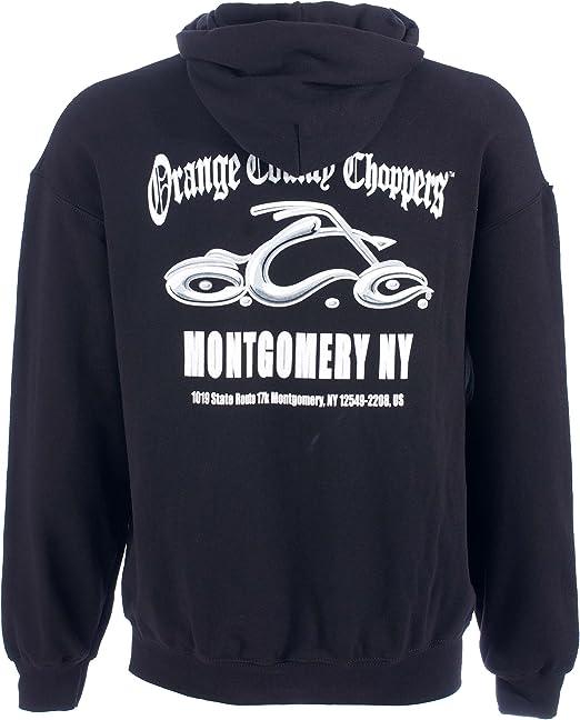 OCC Orange County Choppers Hoodie Montgomery Arc Logo schwarz