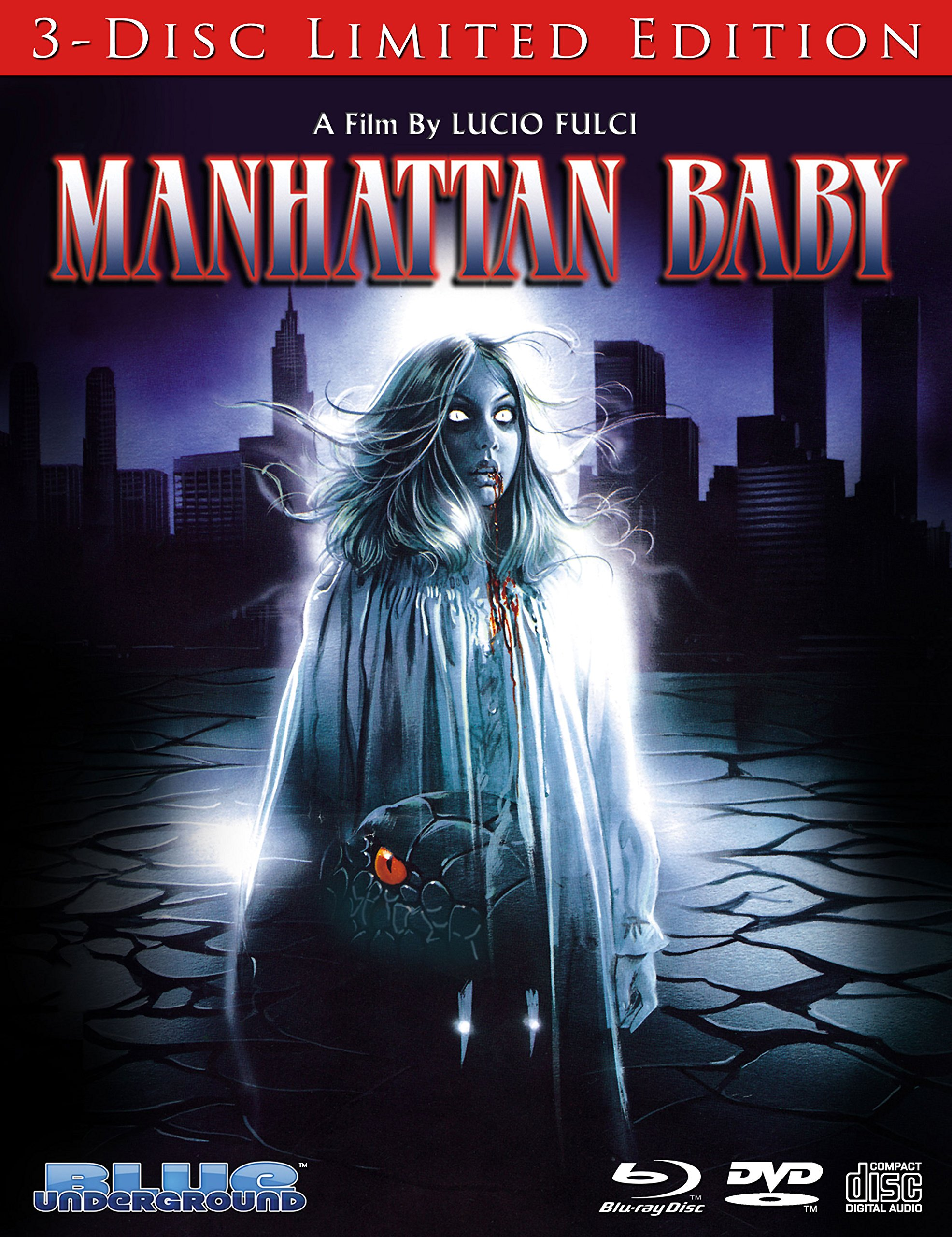 Blu-ray : Manhattan Baby (Limited Edition) (With DVD, 3 Pack, 3 Disc)