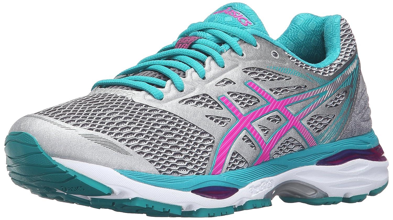ASICS Women's Gel-Cumulus 18 Running Shoe B017USNA56 10 B(M) US|Silver/Pink Glow/Lapis