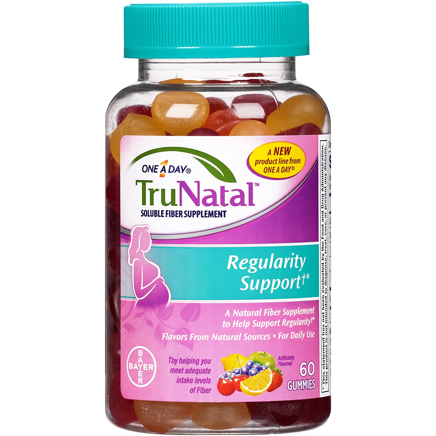 Amazon.com: TruNatal Regularity Support Supplement, 60 Count: Health & Personal Care