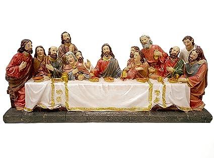 amazon com biagio the last supper statue jesus and the 12