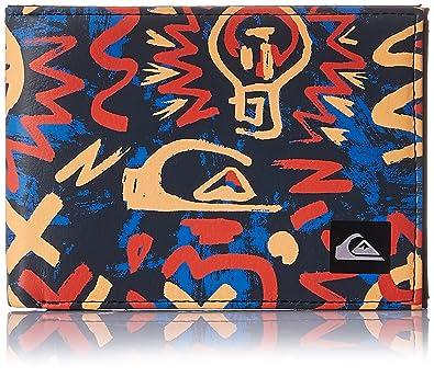 Quiksilver Boardshort - Cartera para hombre, color naranja/rojo/azul/gris, talla L: Amazon.es: Deportes y aire libre