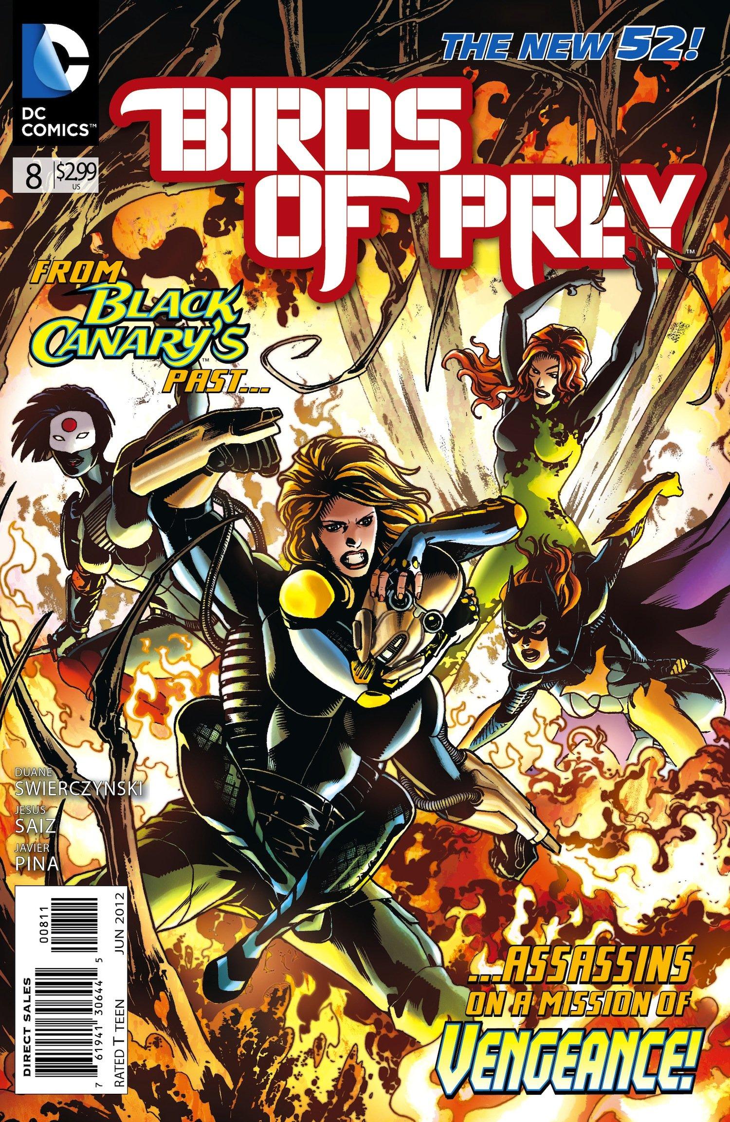 Amazon Com Birds Of Prey 8 Rumor Has It That Dinah Lance A K A Black Canary Killed A Man With Her Sonic Scream Swierczynski Books