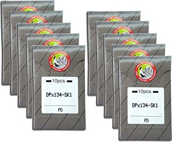 50 Organ Titanium Longarm Quilting Needles 134MR Same as 135X5SK1 // DPX134-SK1 // 135X5MR ~ Multiple Sizes! 100//16 MR 3.5