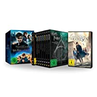 Wizarding World 9-Film Collection: Alle Harry Potter Filme und Phantastische Tierwesen im Schuber (Limited Edition exklusiv bei Amazon.de) [DVD]