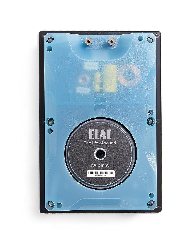 Amazon.com: ELAC - Debut IW-D61-W Custom In-Wall Speaker (Ea): Home ...