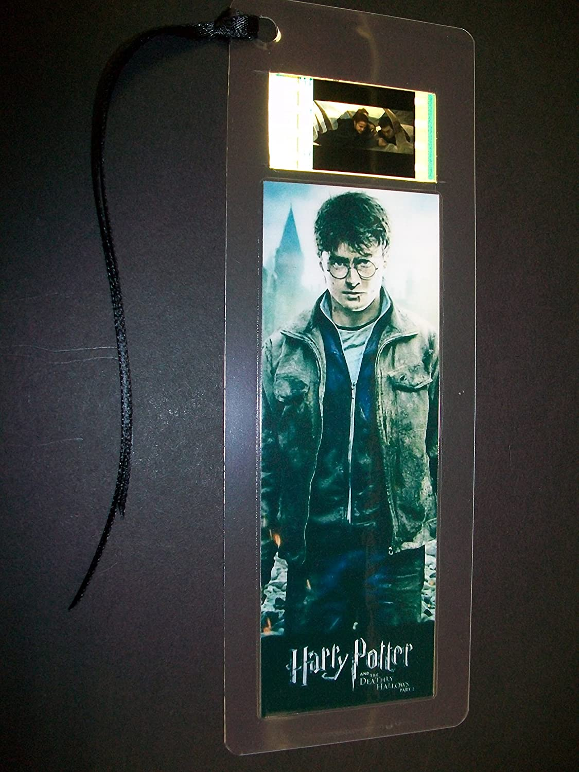 HARRY POTTER Deathly Hallows II Movie Film Cell Bookmark memorabilia