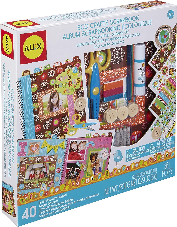 Alex- Scrapbook ecológico (Juratoys 166W): Amazon.es: Juguetes y juegos