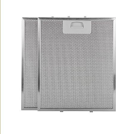 Filtro campana extractora 300x250 (paquete 2): Amazon.es: Hogar