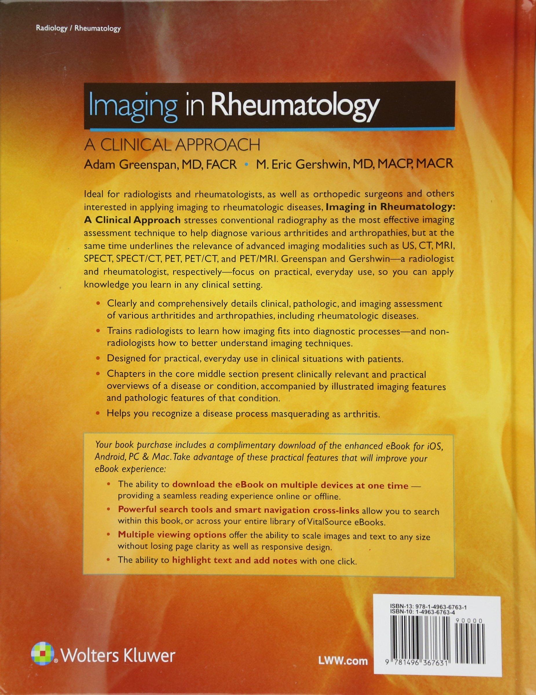 Imaging in rheumatology a clinical approach amazon adam imaging in rheumatology a clinical approach amazon adam greenspan m eric gershwin books fandeluxe Choice Image
