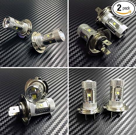 High Power HID LED Headlight H7 Bulb for Yamaha YZF-R1 YZF-R6 2007-2014  Bulbs