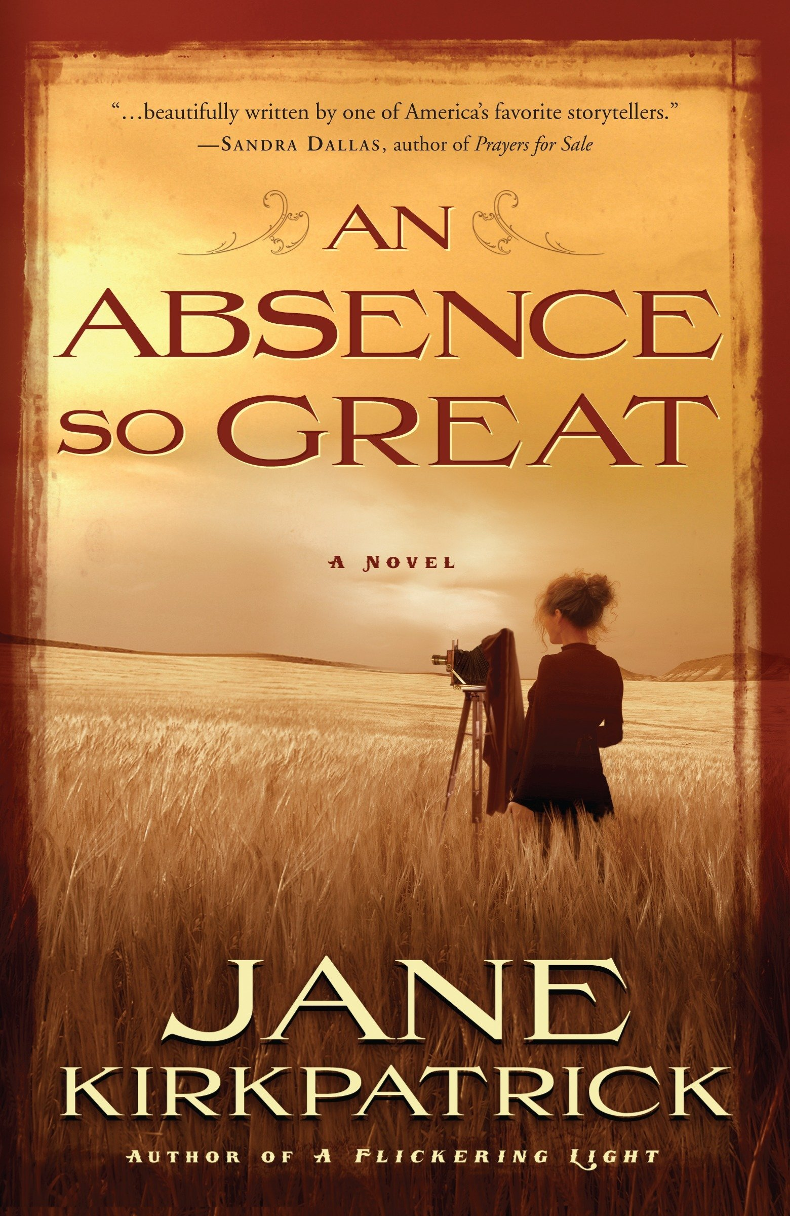 Download An Absence So Great: A Novel (Portraits of the Heart) PDF