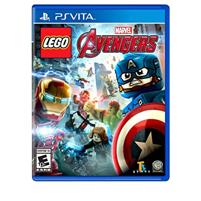 WB Games Lego Marvel's Avengers - Playstation Vita: Video Games