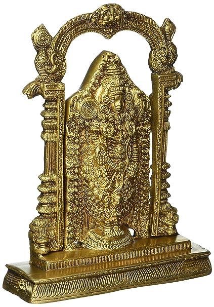 Statue Brass Tirupati Lord Buy Redbag 25