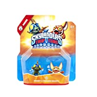 Figurine Skylanders : Trap Team - Drobit + Trigger Snappy