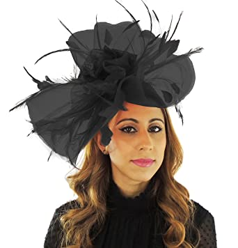 Hats By Cressida Black Ascot Fascinator Hat for Ascot 98ce9ac50cf5