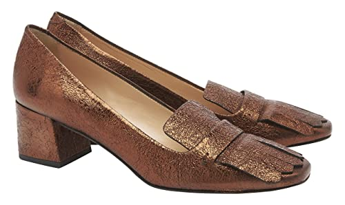 Pennyblack Segno, Mocasines para Mujer, Marrone (Bronzo), 36 EU: Amazon.es: Zapatos y complementos