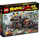 LEGO Monkie Kid 80011 Red Son's Inferno Truck (1111 Pieces)