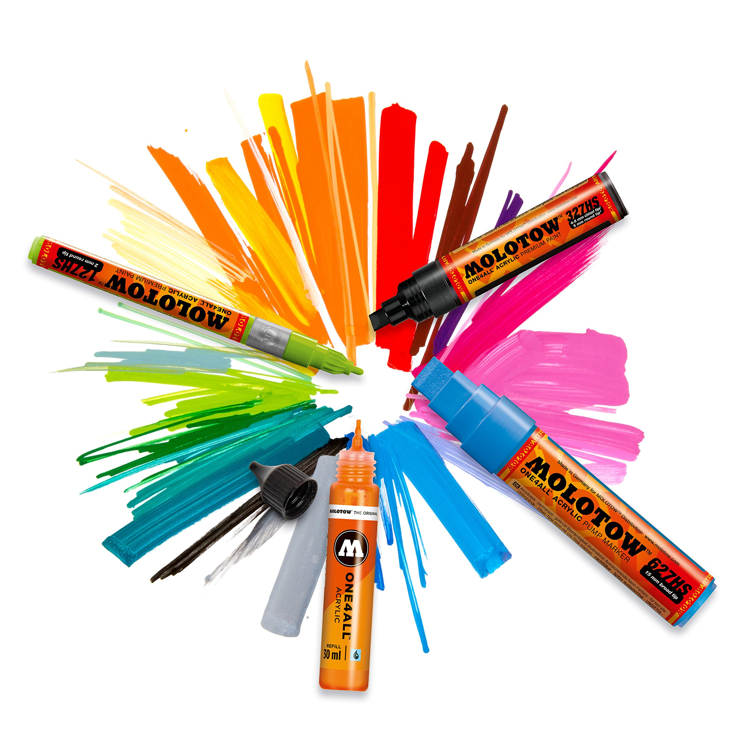 Molotow One4All Marker 127Hs Display Set Complete