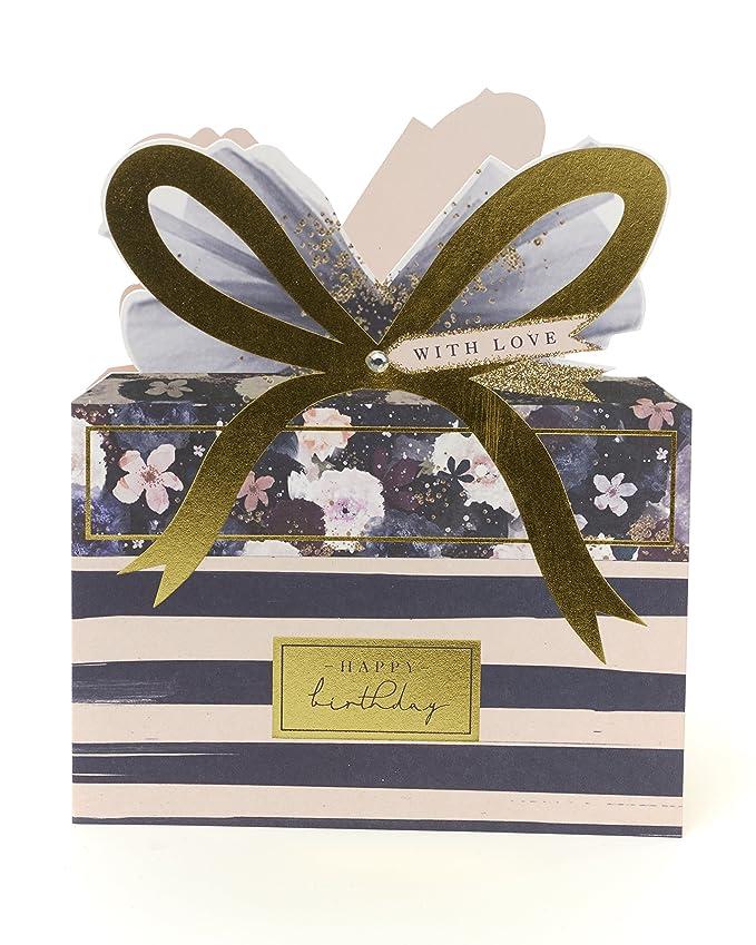 Amazon.com: Tarjeta de cumpleaños para ella – Tarjeta de ...