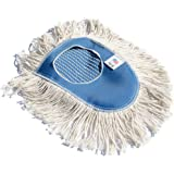 Nine Forty Industrial Strength Ultimate Cotton Floor Dust Mop Wedge Refill | Commercial Cleaner Mop Head Replacement