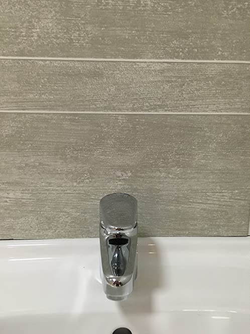 Multi Tile Greystone Tile Effect Panel Bathroom Cladding PVC Shower Wet Wall  Panels (6 Panels Part 37