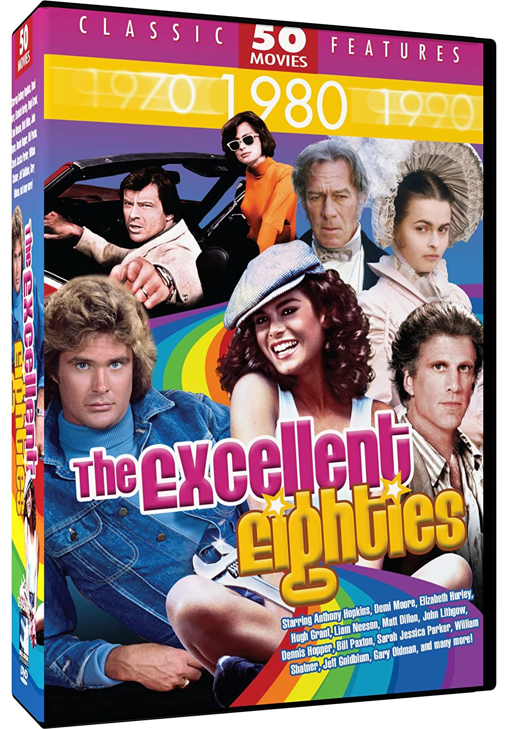 b92d2accd Amazon.com: Excellent Eighties - 50 Movie Pack: Bail Out - Hunk ...