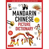 Mandarin Chinese Picture Dictionary: Learn 1,500 Key Chinese Words and Phrases (Perfect for AP and HSK Exam Prep, Includes On