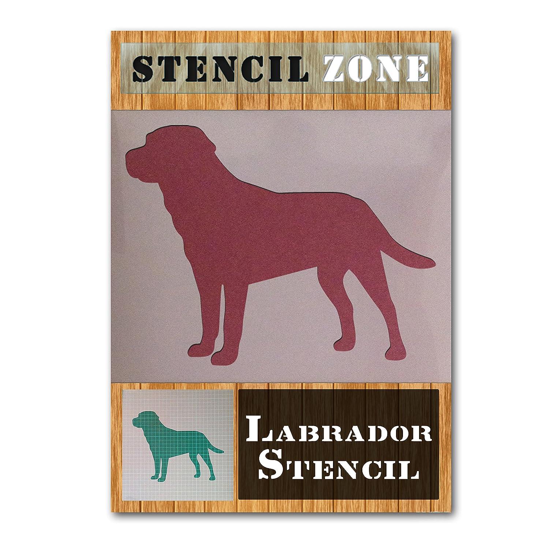 A1 Taille Pochoir - Xlarge Labrador Dog Mylar Peinture murale Art Pochoir D/écoration bricolage Artisanat dart
